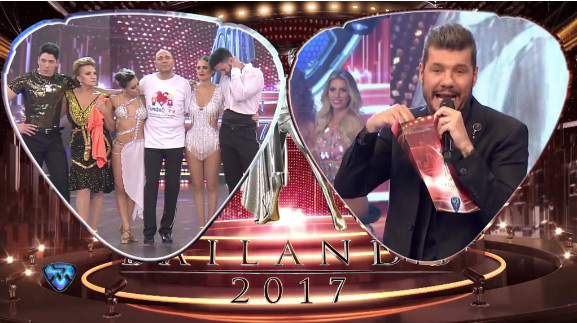 on el 67,39% de los votos, fue que sigan en el certamen Consuelo y Agustín Reyero. Así, los inesperados eliminados de la competencia fueron Silvina Luna y Leandro Nimo (20,56%) y Fredy Villarreal y Soledad Bayona (12,05%).