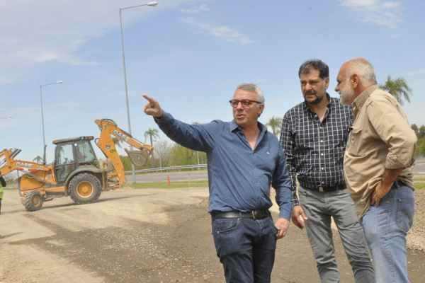 Julio Zamora supervisó el avance de tres obras importantes para Tigre