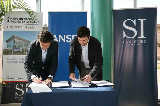 San Isidro y la ANSES firmaron convenios de colaboración