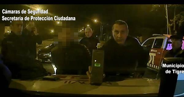 Conductor ebrio burló un control policial en Tigre y fue detenido tras una persecución