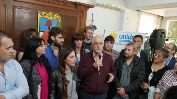 Jorge Taiana visitó la casa de Perón junto a los candidatos de Unidad Ciudadana Vicente López