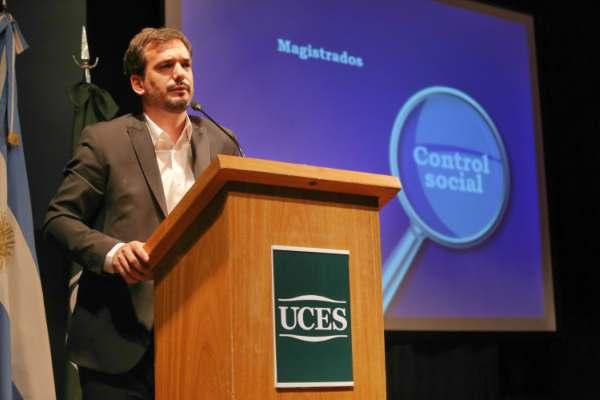 Vicepresidente Segundo del Senado bonaerense, Sebastián Galmarini,