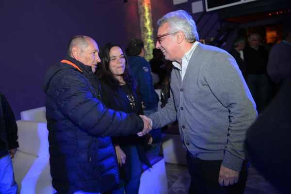 Zamora urante un encuentro con pequeños empresarios locales, en el que se interiorizó sobre la situación del sector. Participaron referentes del espacio 1País Tigre