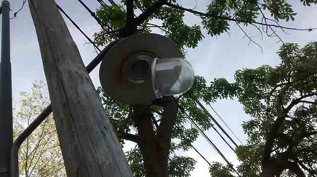 El municipio de San Isidro denunció el  robo de luminarias LED