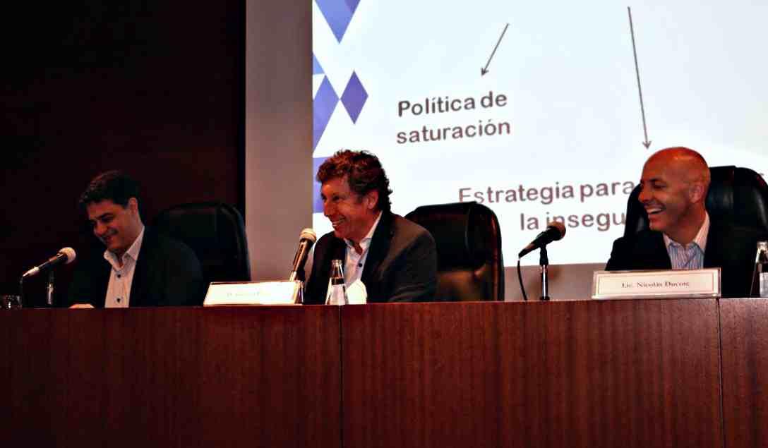 Gustavo Posse expuso sobre seguridad en el Colegio de Abogados de San Isidro