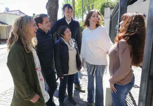 Vidal y Bullrich timbrearon en San Fernando junto a los candidatos locales