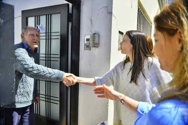 Soledad Martínez, Jorge Macri y Silvia Lospennato timbrearon por Villa Martelli