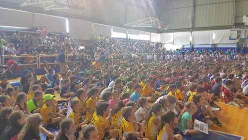 Más de 1200 chicos participarán de un encuentro internacional de escuelas deportivas en Hacoaj