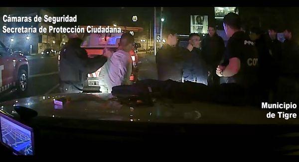 Robaron un auto en José C. Paz, huyeron hacia Tigre y fueron detenidos