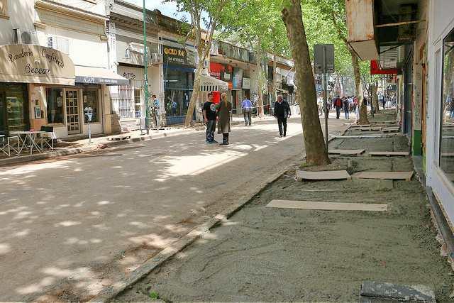 Avanza la renovación del centro comercial a cielo abierto de San Isidro