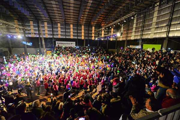 San Fernando realizó la Gala de Gimnasia de Adultos