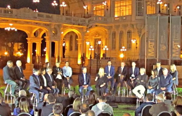 Massa y Stolbizer cerraron su campaña con una conferencia de prensa en Tigre