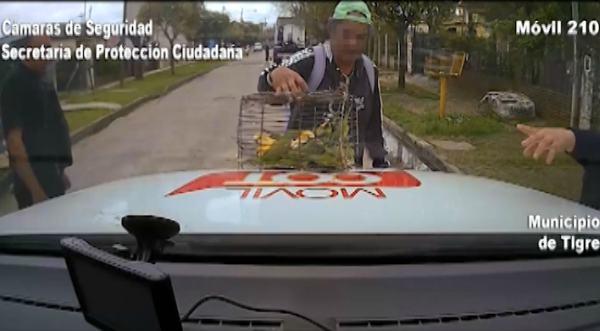 Vendía aves silvestres en Tigre y fue detenido