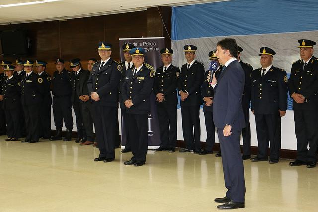 San Isidro celebró el día de la Policía Federal