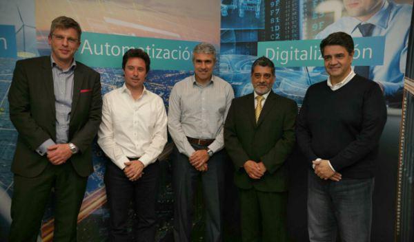 Convenio entre Siemens y la provincia de Buenos Aires, en Vicente López