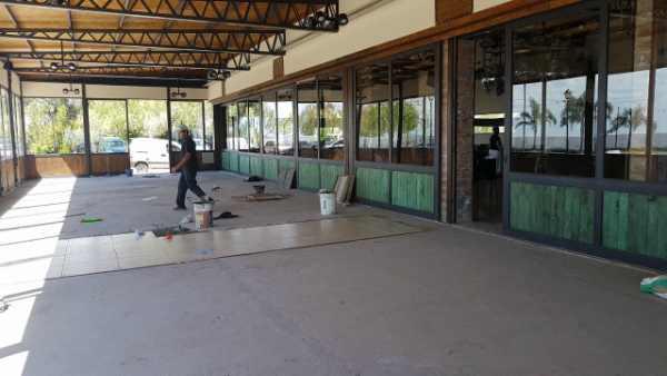 San Isidro avanza con la  renovación de Puerto Libre