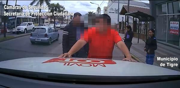 Un hombre fue detenido en Tigre cuando manejaba un automóvil con pedido de captura