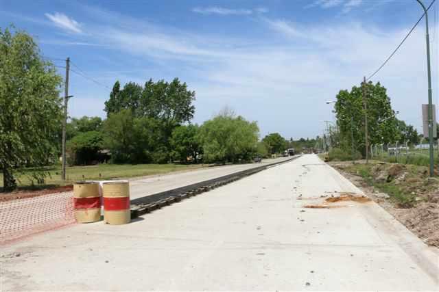 Avanza la renovación del acceso al río por Roque Sáenz Peña en San Isidro