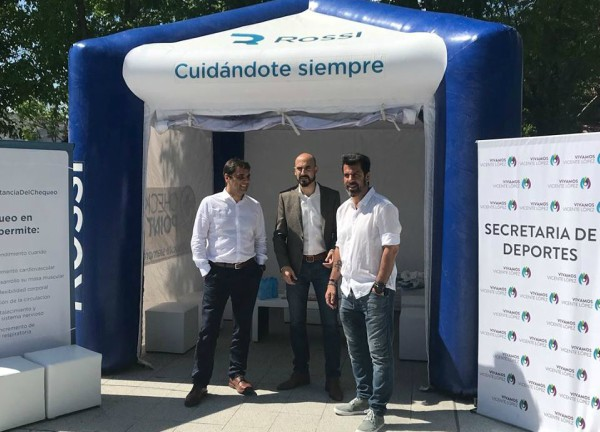 Aptos físicos gratuitos para los jóvenes de Vicente López
