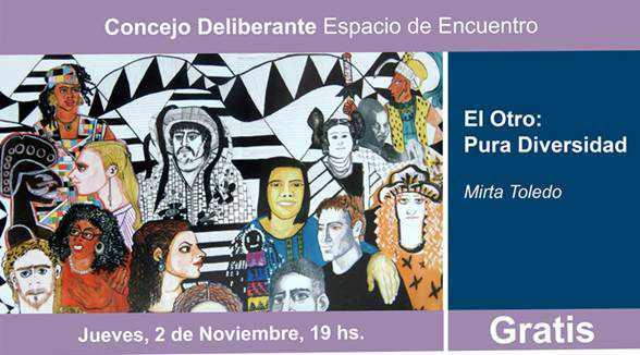 Una muestra que celebra la diversidad se expone en San Isidro