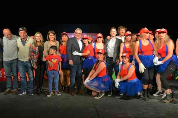 Los polideportivos de Tigre realizaron su muestra anual de de gimnasia