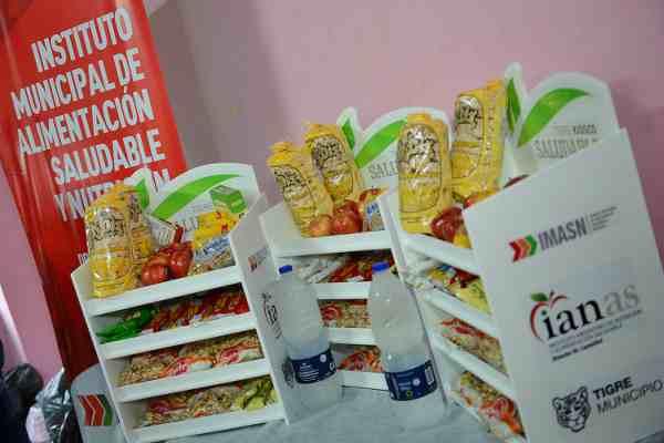 Tigre lanzó kioscos saludables para promover una alimentación consciente en los polideportivos
