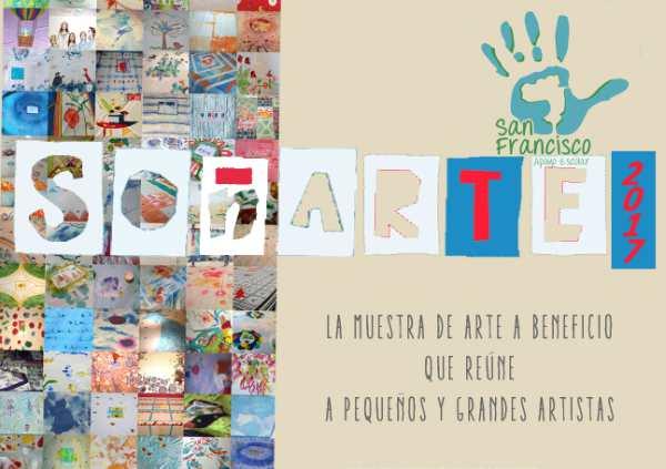 Soñarte 2017: la 4ta. edición de la muestra de arte a beneficio del apoyo escolar San Francisco de Asís