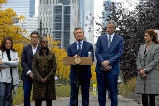 Macri homenajeó a las víctimas del ataque en Nueva York