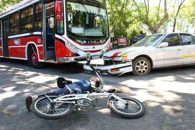 Simulacro de accidente de tránsito con víctimas múltiples en San Isidro