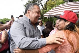 Cuatro años de prisión para D´ Elía por la toma de una comisaría en la Boca: por ahora no será detenido