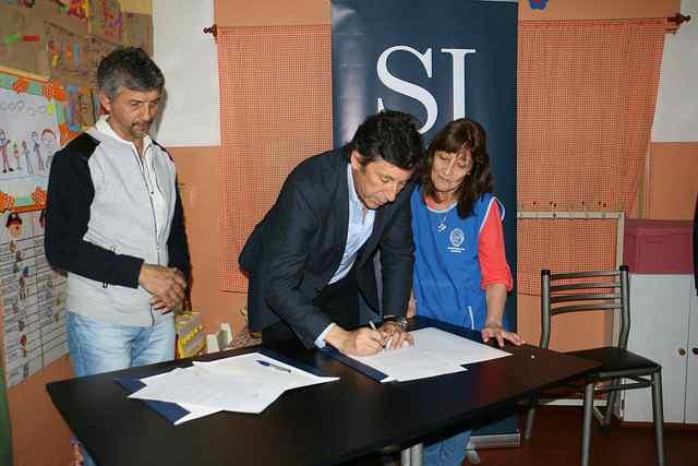 Convenio entre el municipio de San Isidro y la sociedad de fomento La Calandria