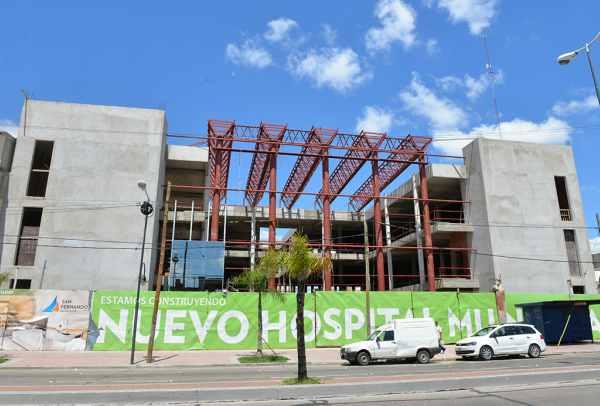 Avanza  la obra del Hospital Municipal de San Fernando