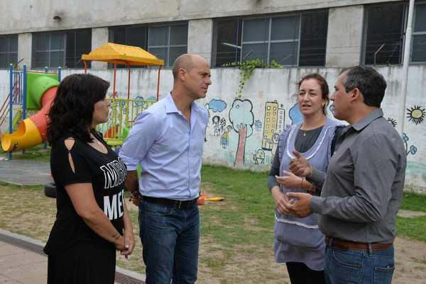 San Fernando asistió a escuelas provinciales tras hechos vandálicos y solicitó a Provincia investigue