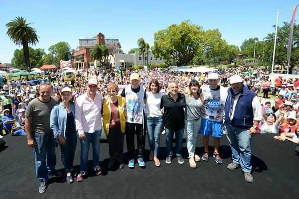Tigre celebró la caminata ALCO contra la obesidad en el Día Mundial de la diabetes