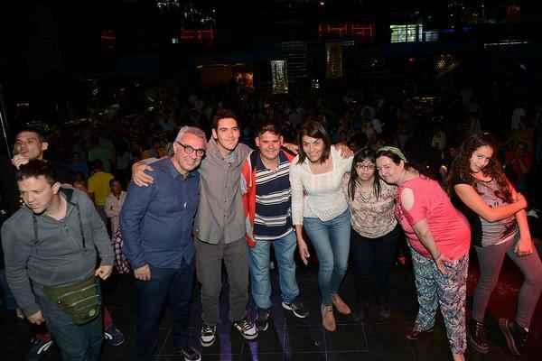 Julio y Gisela Zamora compartieron una tarde de inclusión, música y baile en Tigre
