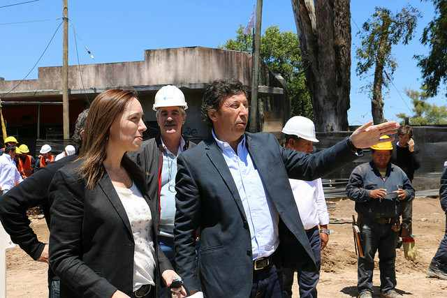 Vidal y Posse recorrieron las obras que renovarán Av. Sarratea