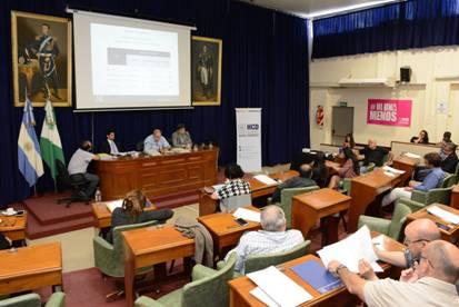 Responsables de distintas áreas municipales asistieron a las reuniones de las comisiones legislativas para informar a los concejales sobre lo ejecutado y acerca de los planes para el 2018.