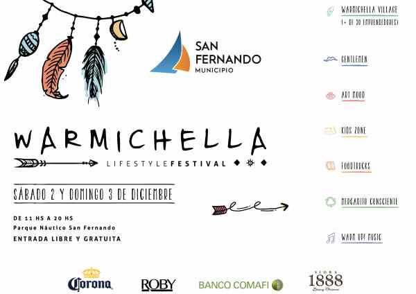 """Llega el """"Warmichella"""" Lifestyle Festival a San Fernando"""