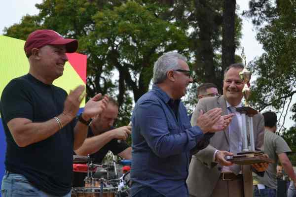 Una multitud festejó el deporte en Hacoaj con el embajador de Israel, el intendente de Tigre y los Totora
