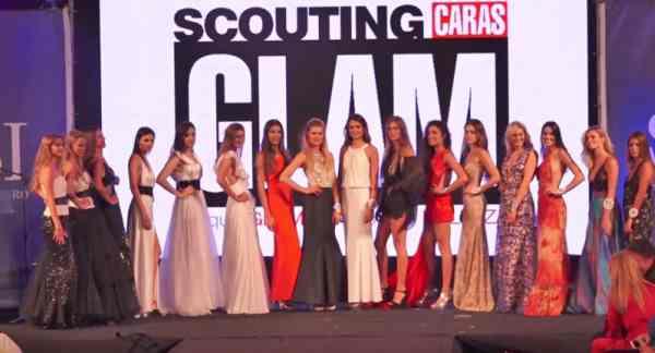 """La revista Caras llevó a cabo una nueva edición del """"Scouting Caras Glam"""" en el Centro Municipal de Exposiciones. Participaron jóvenes de todo el país."""