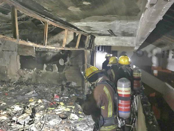 Un incendio afectó a la Escuela N°2 de Tigre