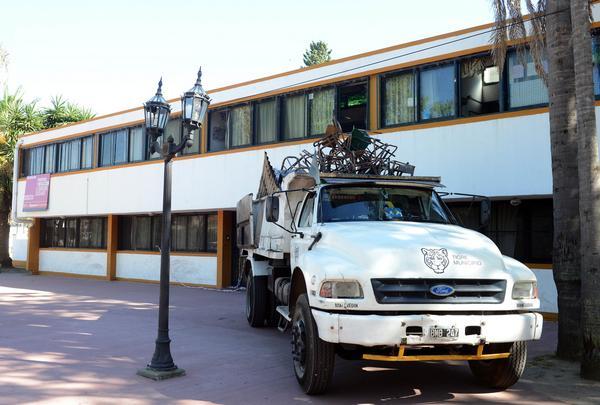 Tigre ayudará a reconstruir el tercer nivel en la Escuela N° 2, afectado por un incendio
