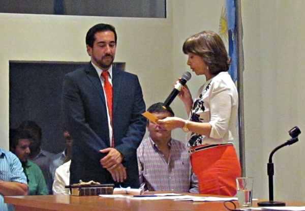 Juraron los nuevos concejales en San Fernando - Luis Ruiz Díaz