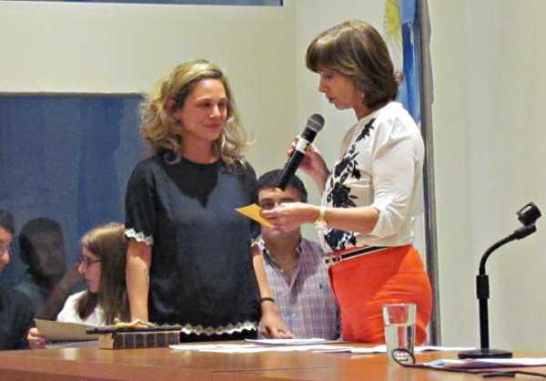 Juraron los nuevos concejales en San Fernando - Agustina Ciarletta