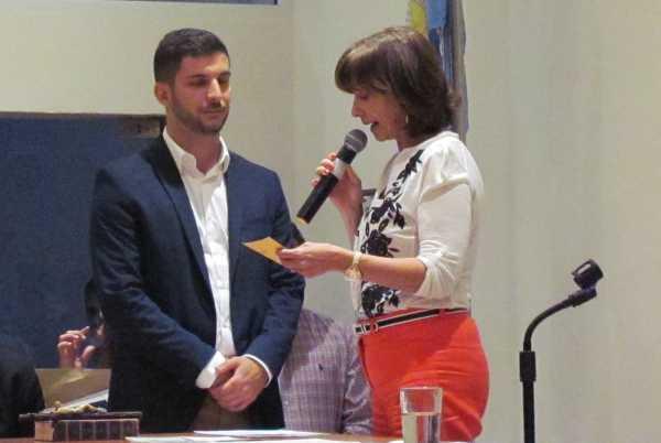 Juraron los nuevos concejales en San Fernando- Federico Fernández Storani