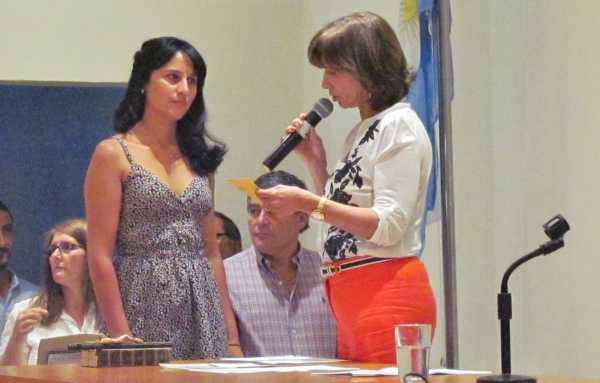 Juraron los nuevos concejales en San Fernando - Paula Guevara