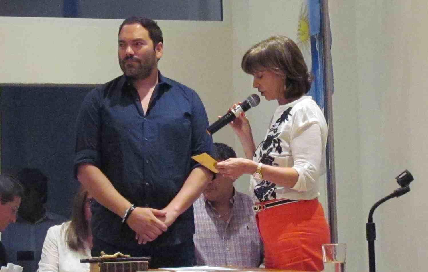 Juraron los nuevos concejales en San Fernando - Matias Molle