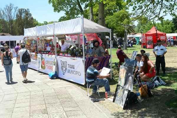 Tigre vivió el Encuentro Regional de Artesanos