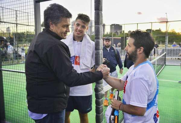 El Paseo de la Costa recibió a los mejores jugadores del pádel argentino