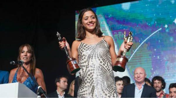La Sanisidrense Delfina Pignatiello ganó el Olimpia de Oro